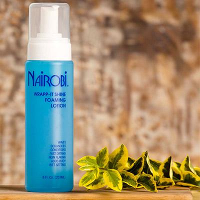 Nairobi Wrap It Shine Foaming Lotion Yourie Hair Salon